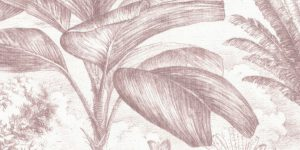 Tela con estampado floral